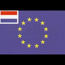 Combinatie vlaggen EG & NL/DE/BE 40x60cm