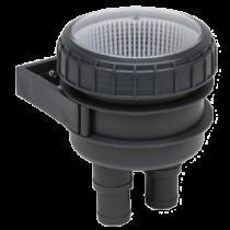 allpa Koelwaterfilter Ø19-25mm Quick Fit, met wandhouder en doorzichtig deksel 150l/min