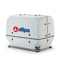 allpa Scheepsdieselgeneratoren met geluiddempende kast, variabel toerental 2000-3000 omw./min.
