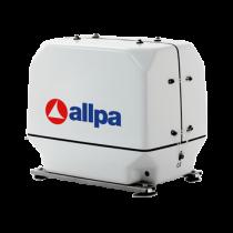 allpa Scheepsdieselgeneratoren met geluiddempende kast, 1500 omw./min