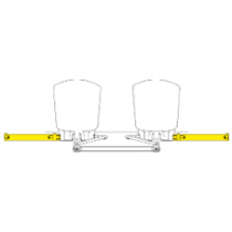 SeaStar Outboard Cilinder Zijmontage