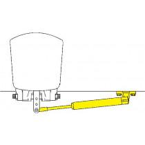 SeaStar Outboard cilinder spiegelmontage