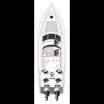 Onderdelen KE-4+ Series, outboard style head