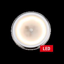 LED Plafondlamp dimbaar; 9-16V  6W  Ø105mm  H=7.5mm