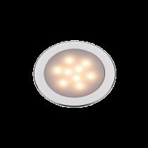 LED Plafondlamp, 12VDC, Aluminium, Ø69.5mm