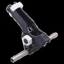 allpa Kunststof hengelhouder voor railingmontage (Ø25mm), max. Ø42mm