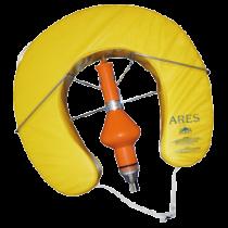 """allpa Reddingsboei model """"Ares"""", hoefijzer, met reddingslicht en houder, geel"""