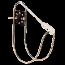 allpa RVS Reddingsboei-ophangbeugel voor montage op Railing (Ø25mm) of wand