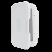 Inbouwkastje wit kunststof met deksel  235x160mm