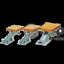 Buitenboordmotorstoelen aluminium, klapbaar