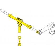 SeaStar Stringer-montageset 124mm*