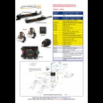 SeaStar Set Optimus EPS Inboard 2 Motoren en 1 Stuurstand