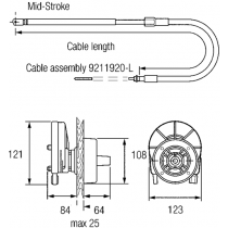 SeaStar Stuurkop Safe-T II
