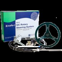 """Safe-T """"QC"""" stuursysteem met kabel + riviera stuur zwart"""