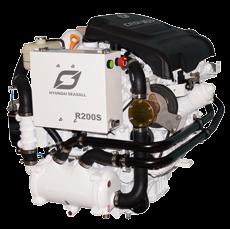 Hyundai Scheepsdieselmotoren R200 intercooler & warmtewisselaar