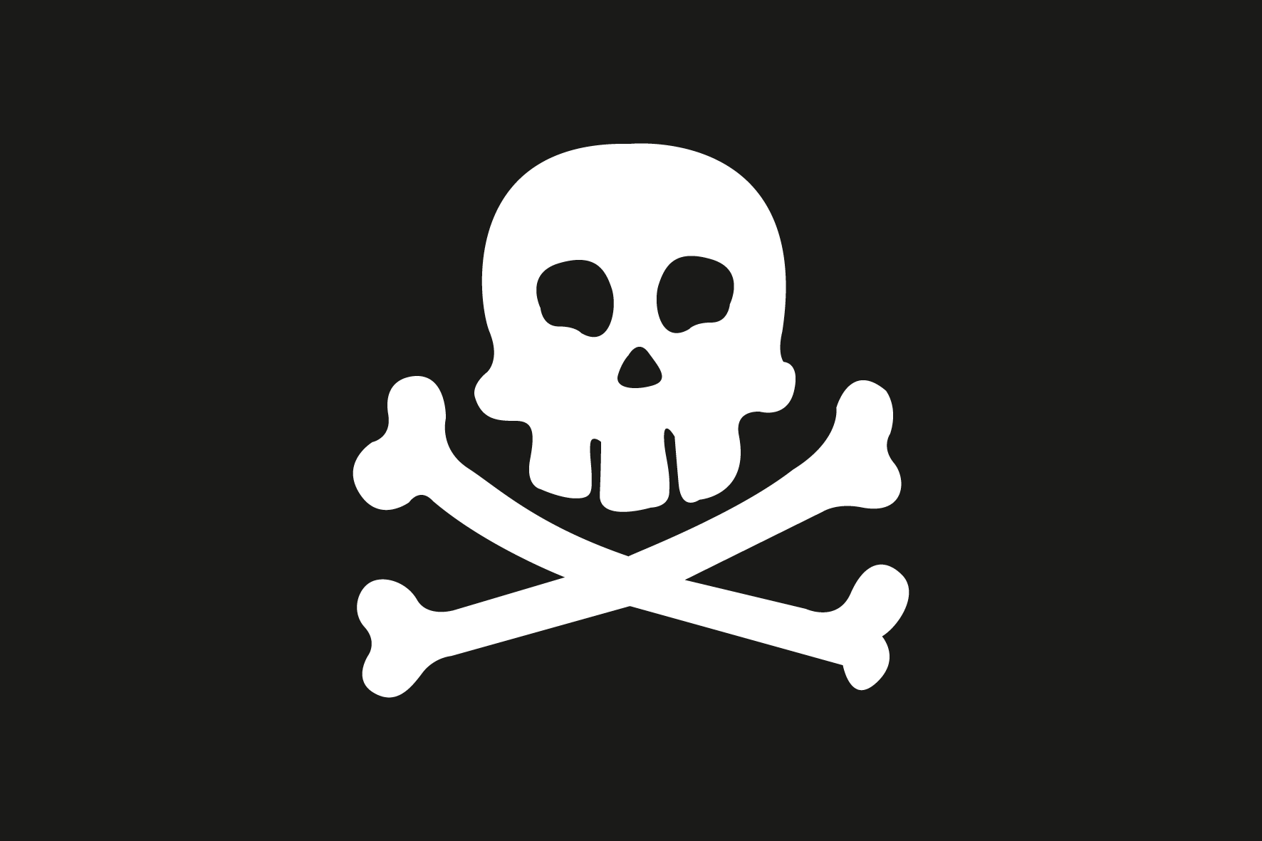 allpa Pirate vlag 50x75cm